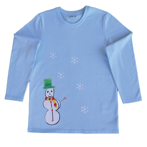 Mr. Snow Long Sleeve T-Shirt