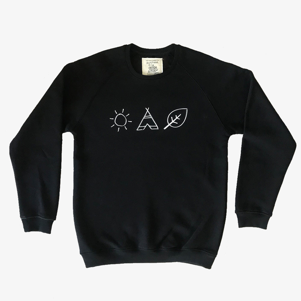 unisex black sweater