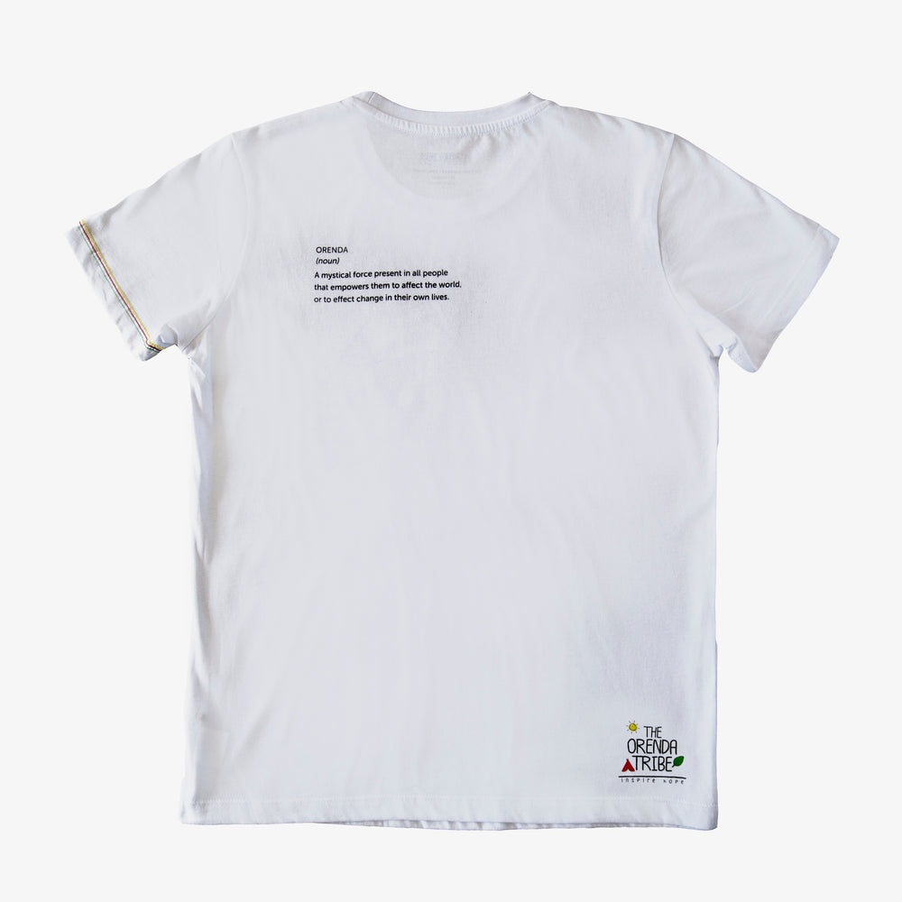 ethical and sustainable organic cotton men's tshirt tepee