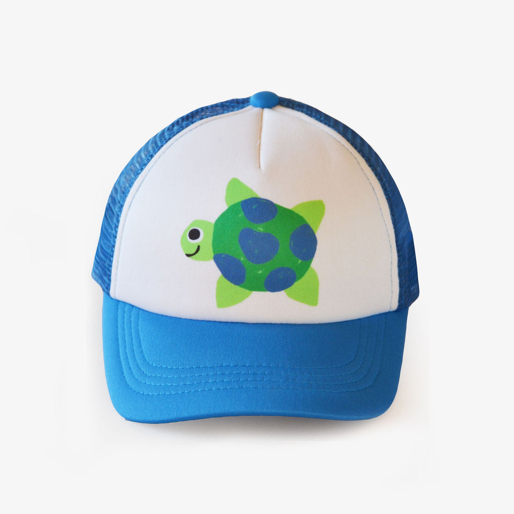 Riley The Turtle Kids Trucker Hat