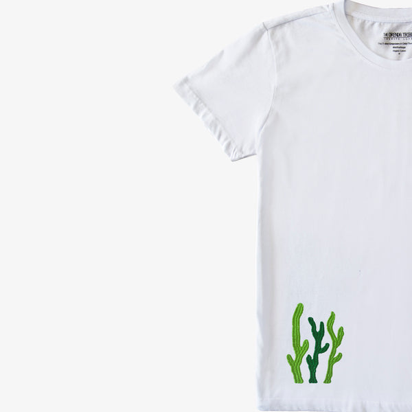 Riley The Turtle Embroidered Adult T-Shirt