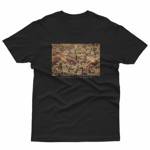 Load image into Gallery viewer, The creation of Amman T-Shirt - Saleh Studio