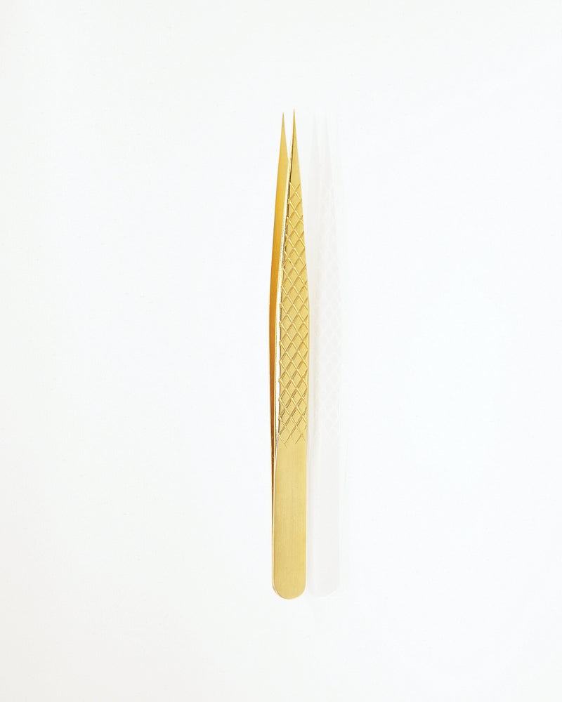 Straight isolation tweezer