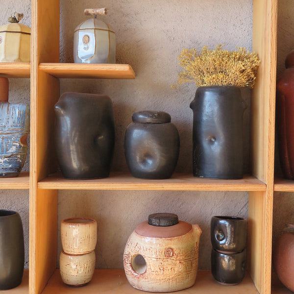 Jarrett West pottery in his New Mexico studio - FOUND&MADE