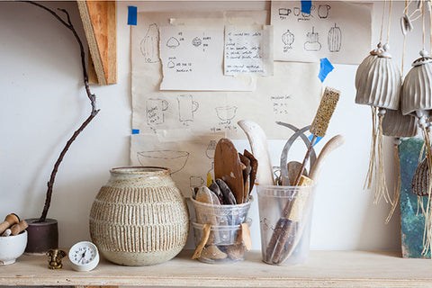 Mt Washington pottery studio - FOUND&MADE blog
