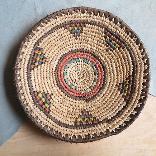 woven native basket - FOUND&MADE