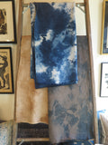 hand dyed belgium linen wool blanket - Lookout and Wonderland