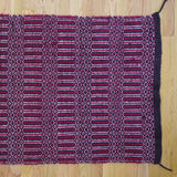 navajo antique red twill rug - FOUND&MADE