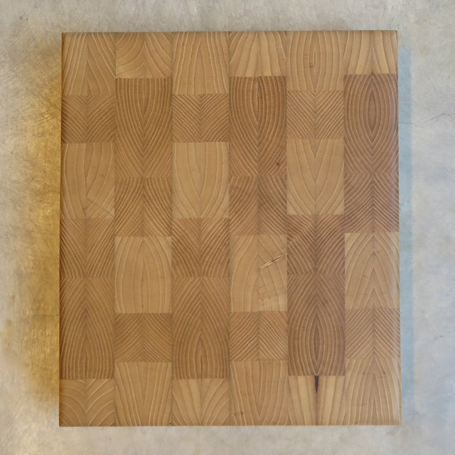 handcrafted reclaimed white ash cutting board - FOUND&MADE