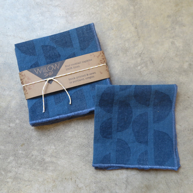 hand block print napkins by Willowship - FOUND&MADE