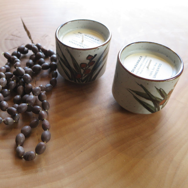 handcrafted Japanese otagiri candle
