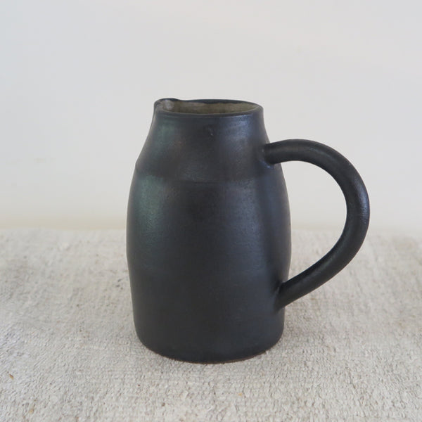 hand thrown pitcher by Beanpole Pottery - FOUND&MADE