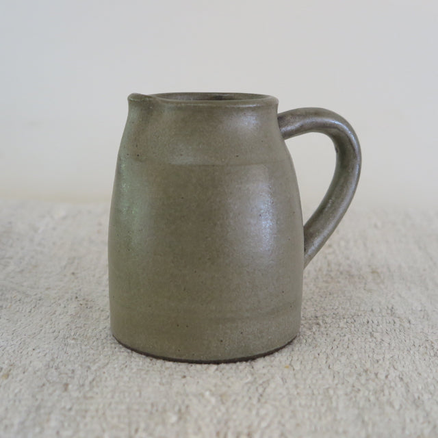 small hand thrown pitcher by Beanpole Pottery - FOUND AND MADE