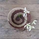 palm leaf antique Botswana basket - FOUND&MADE