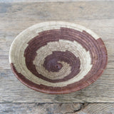 palm leaf antique Botswana basket