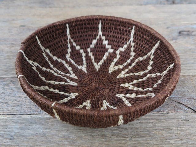 antique one of a kind botswana basket- FOUND&MADE