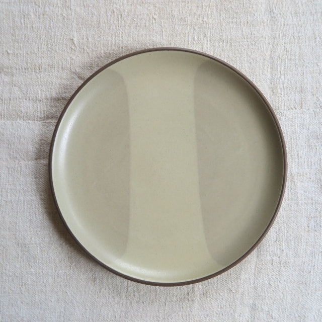 vintage Heath Ceramics striped serving plate - FOUND AND MADE
