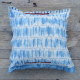heirloom linen shibori- one of a kind pillow