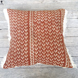 modern graphic mudcloth one of a kind pillow -FOUND&MADE