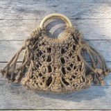 mini hannah macrame bag by Kkibo