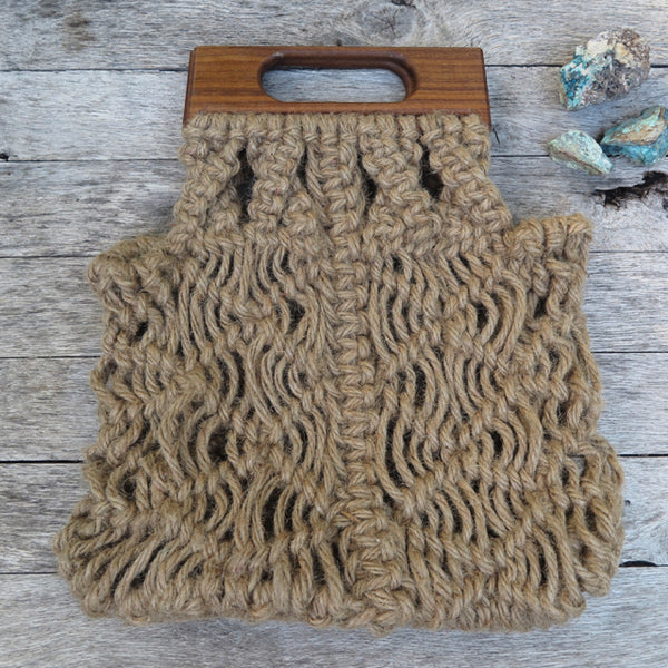 handcrafted modern market bag by KKIBO