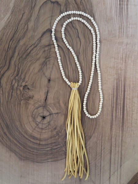 handmade natural suede tassel by Amy Weber Design - FOUND&MADE