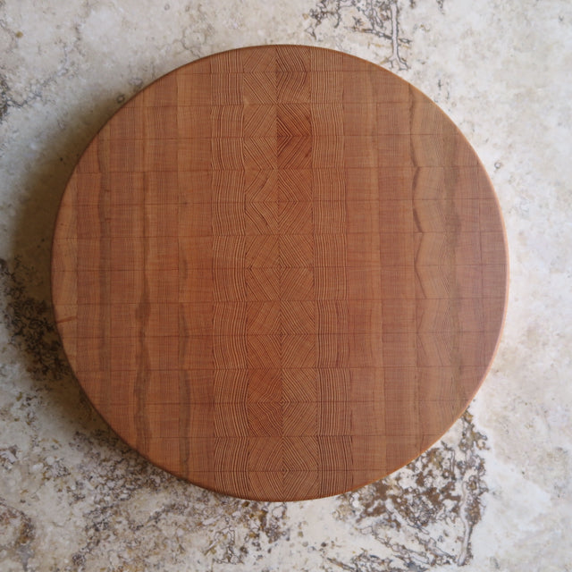 handcrafted mosaic round serve board - FOUND&MADE