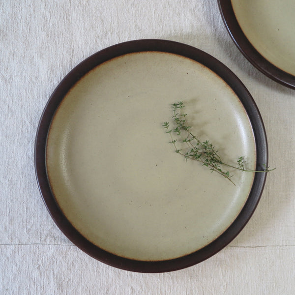 midcentury Heath Ceramics mojave dinner plates - FOUND&MADE