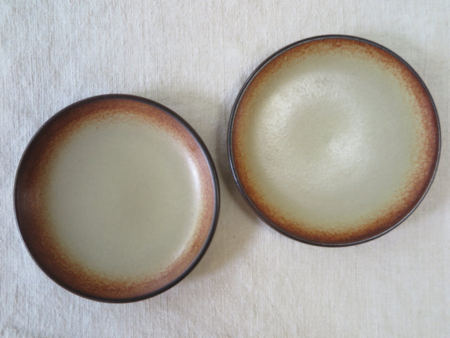 mojave vintage Heath Ceramics small plates - FOUND&MADE