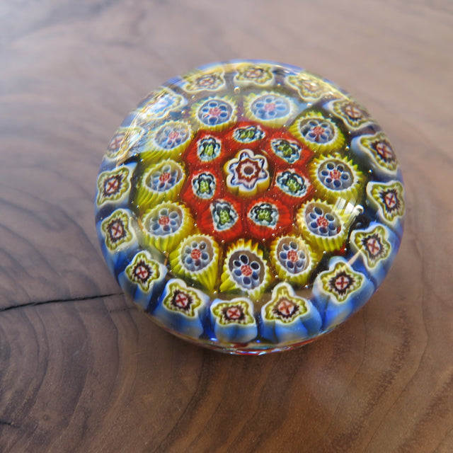 a thousand flowers glass paperweight - FOUND&MADE