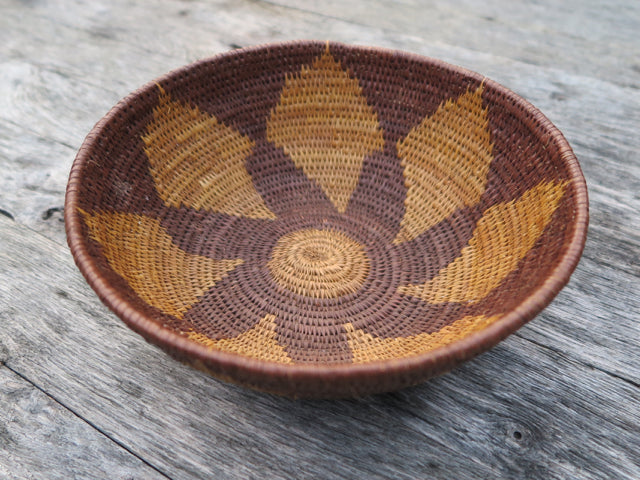one of a kind handwoven botswana bowl - FOUND&MADE
