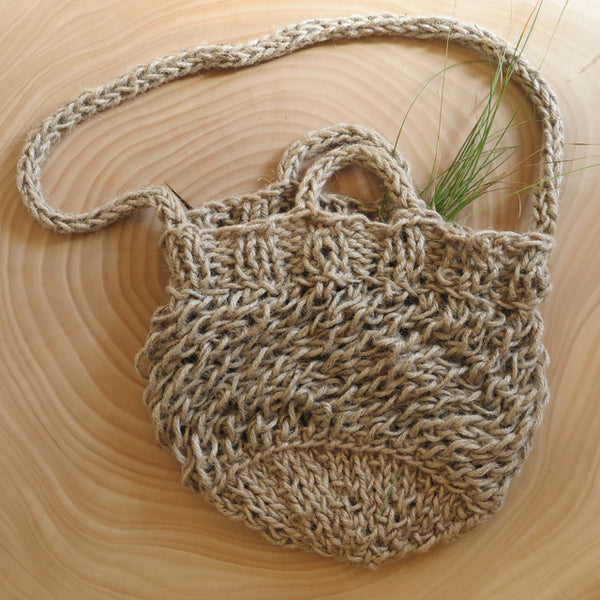 handcrafted natural market bag - KKIBO - FOUND&MADE