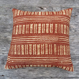 modern african mud cloth pillow - FOUND&MADE