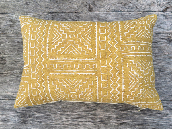 modern african one of a kind pillow - FOUND&MADE