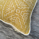 modern african rope- one of a kind pillow