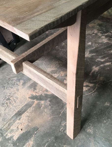 modern artisan farmhouse table - FOUND&MADE