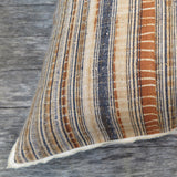 Linen Plaid Selvedge - One of a Kind Pillow
