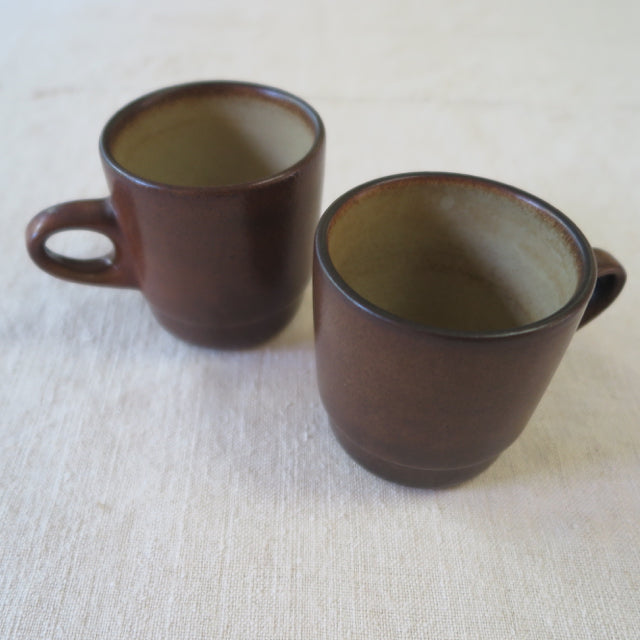 vintage Heath Ceramics mojave series mugs