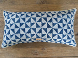 japanese vintage indigo - one of a kind pillow
