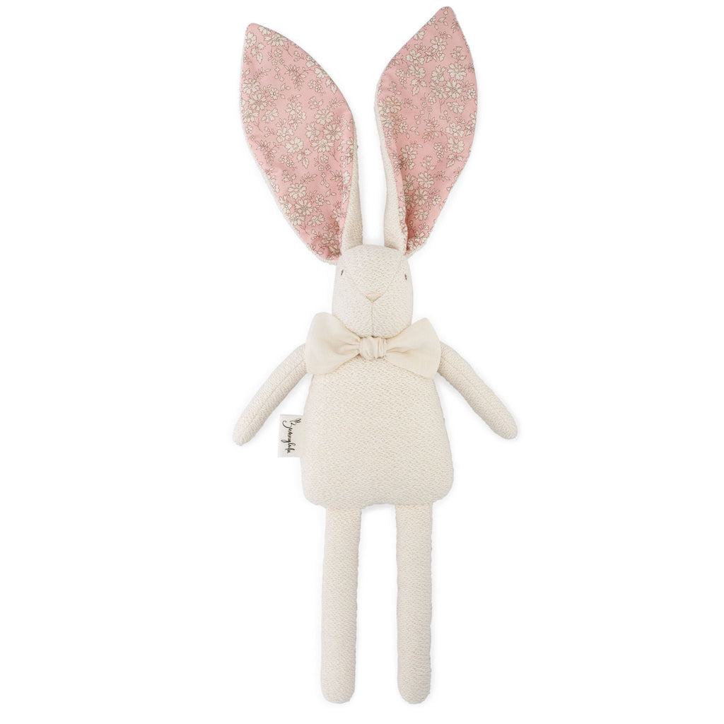 "Organic Bunny Raggy - Liberty of London ""Capel"" - Bunnylulu Handmade"