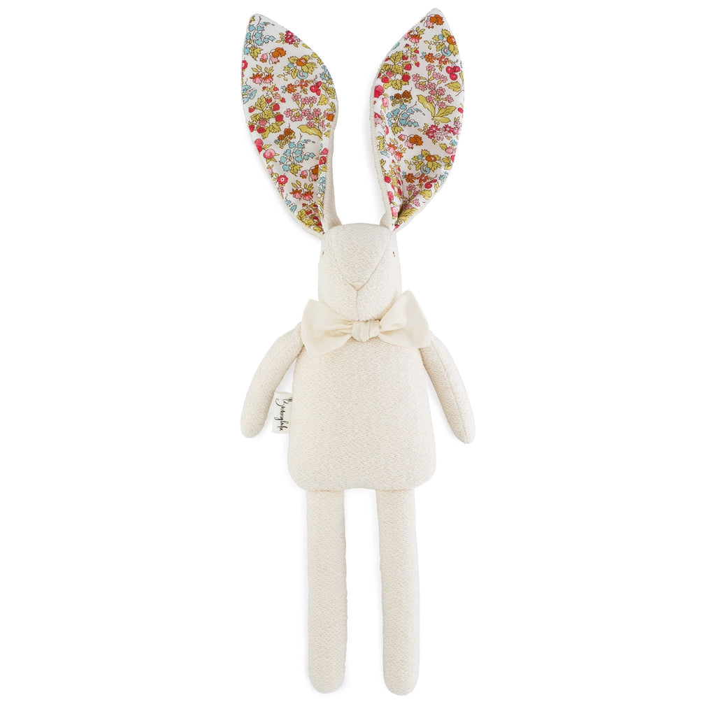 "Organic Bunny Raggy - Liberty of London ""Nancy Ann"" - Bunnylulu Handmade"