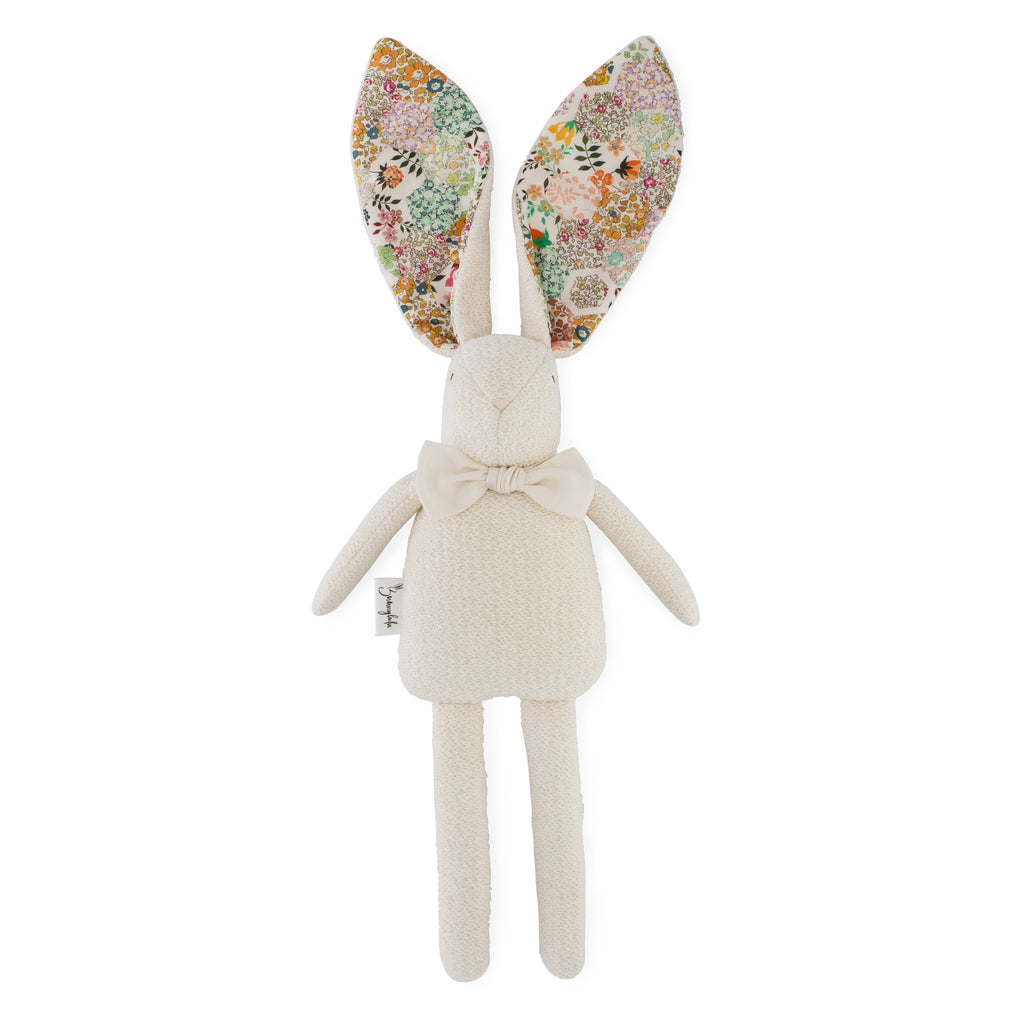 "Organic Bunny Raggy - Liberty of London ""Patchwork Stories"" - Vintage - Bunnylulu Handmade"