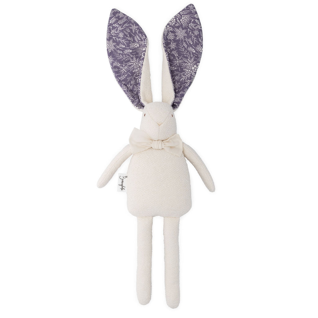 "Organic Bunny Raggy - Liberty of London ""Whispering Stars"" - Amethyst - Bunnylulu Handmade"