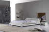 Monte Carlo Leather Platform Bed