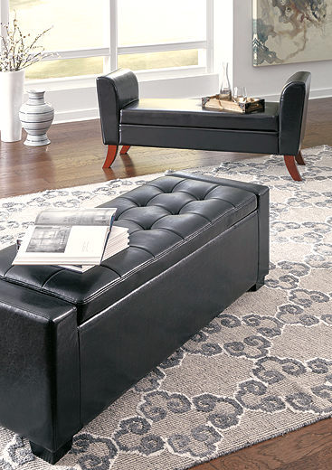 Benches Upholstered Storage Bench (B010-I)