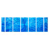 Modern Metal Art - Blue Current