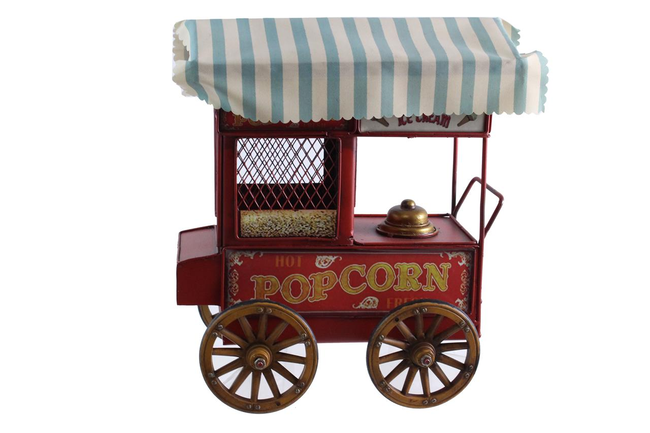 MINIATURE POPCORN CART