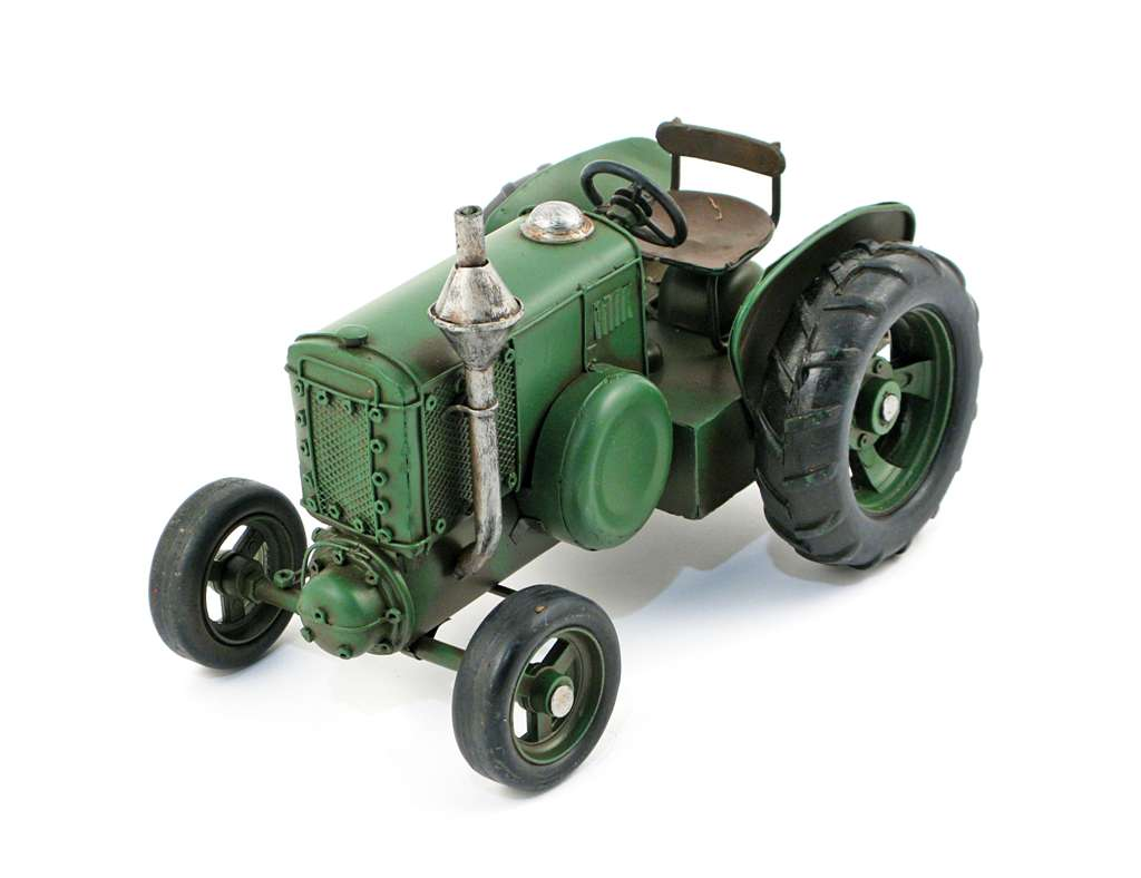 MINIATURE GREEN TRACTOR