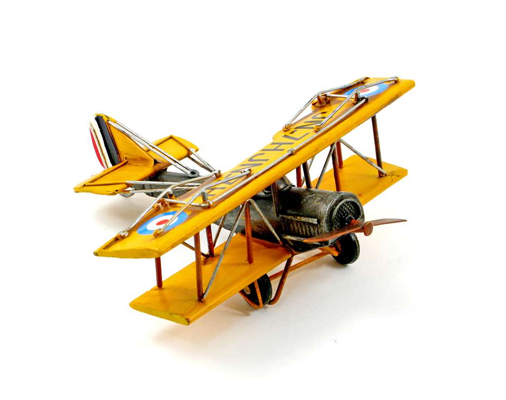 MINIATURE YELLOW DUSTER PLANE