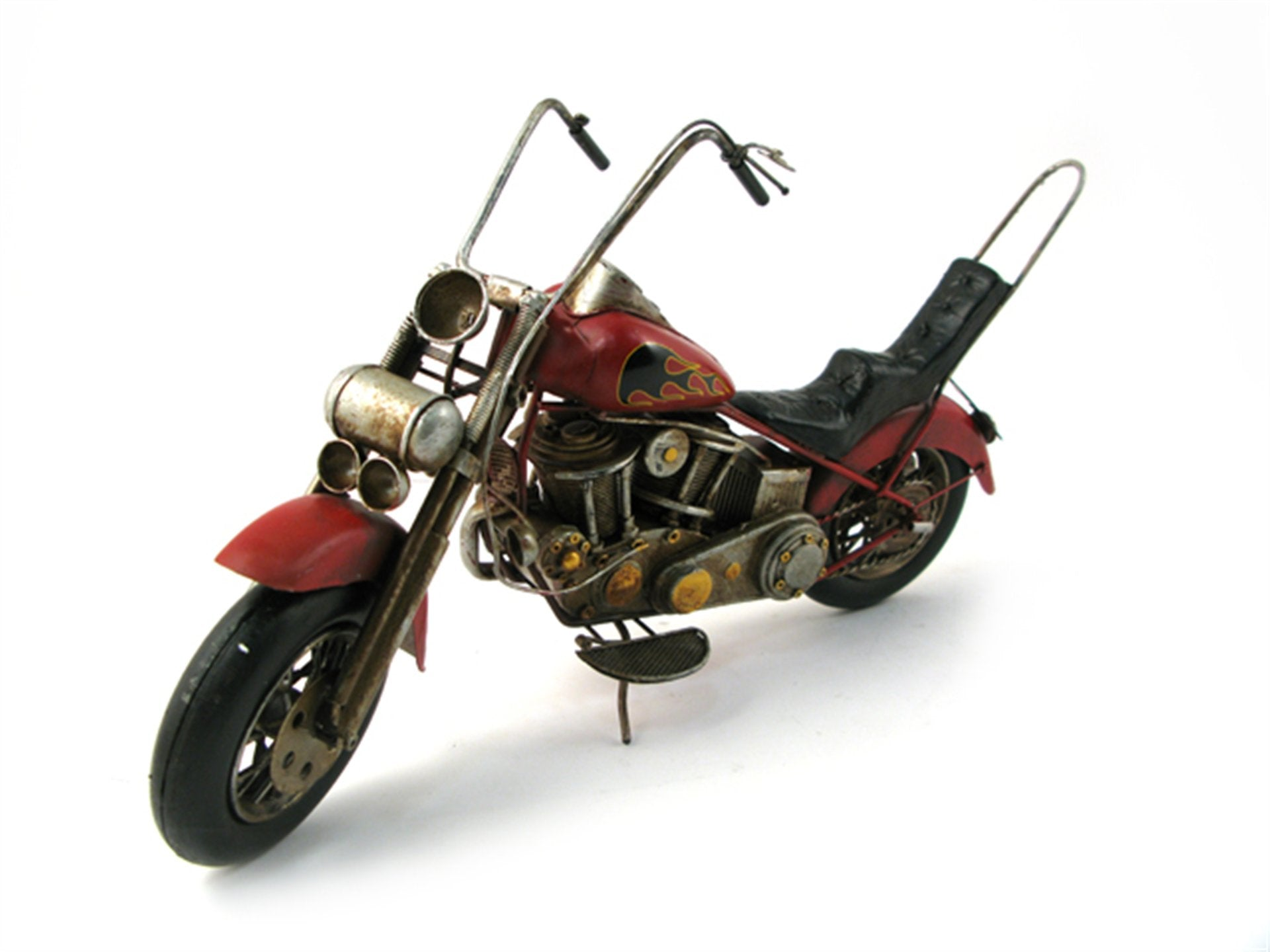 MINIATURE RED MOTORCYCLE
